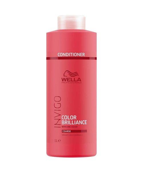 Wella Invigo Color Brilliance Conditioner - weerbarstig haar