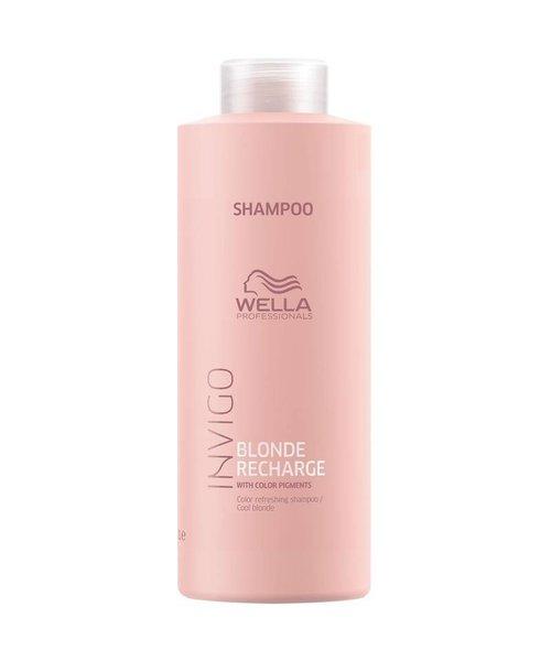 Wella Invigo Color Recharge Blonde Shampoo - Cool