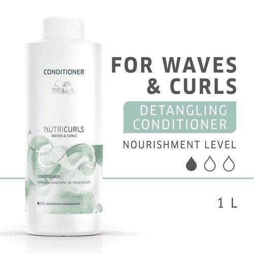 Wella Nutri Curls Detangling Conditioner for Waves & Curls
