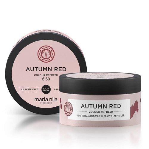 Maria Nila Colour Refresh 6.60 Autumn Red