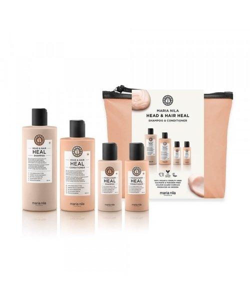 Maria Nila shampoo & conditioner Head & Hair Heal Beauty Bag