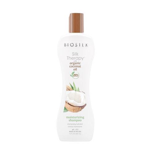 Biosilk Organic Coconut Oil Moisturizing Shampoo - 355ml