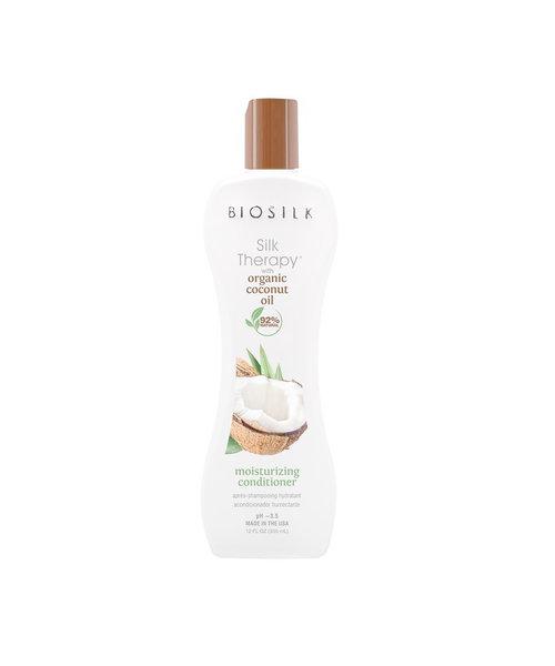 Biosilk Organic Coconut Oil Moisturizing Conditioner - 355ml