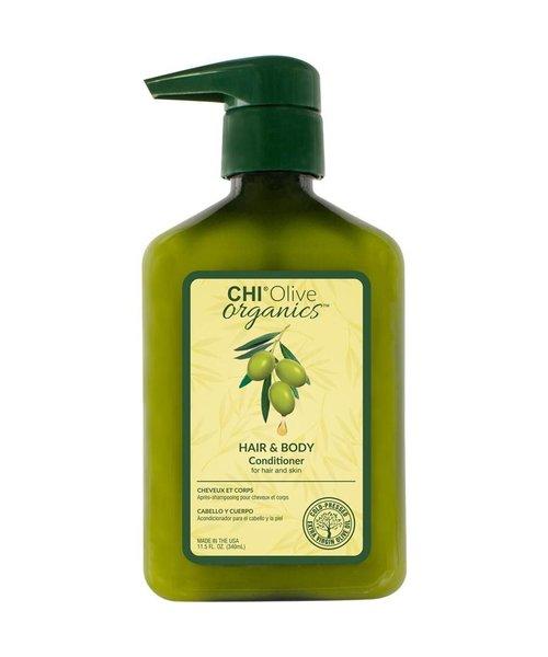 Olive Organics Hair & Body Conditioner - 340ml
