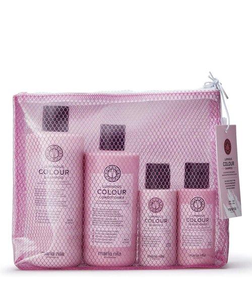 Maria Nila Luminous Colour Shampoo & Conditioner Beauty Bag