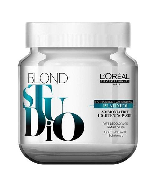 L'Oreal Blond Studio Platinium Ammonia Free Bleach Paste - 500 gr