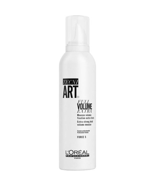 L'Oreal TecniArt Full Volume Extra Strong Mousse - 250ml