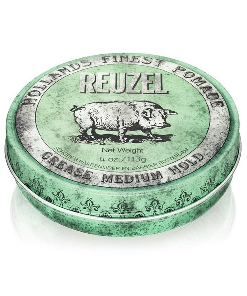 Reuzel Grease Medium Hold Pomade (Groen)