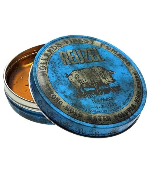 Reuzel Strong Hold Water Soluble Pomade (Blauw)