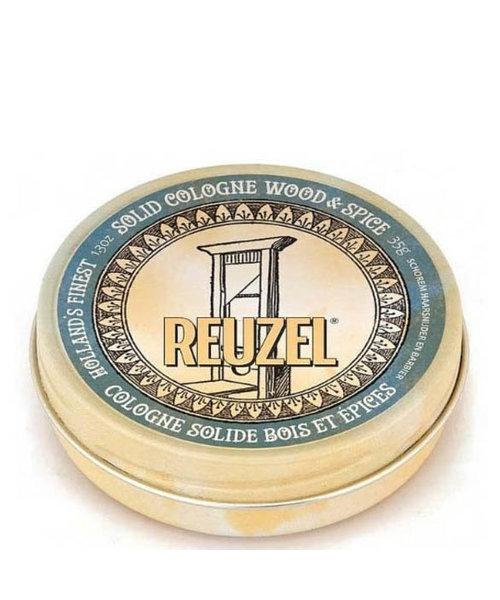 Reuzel Solid Cologne Balm Wood & Spice - 35gr.
