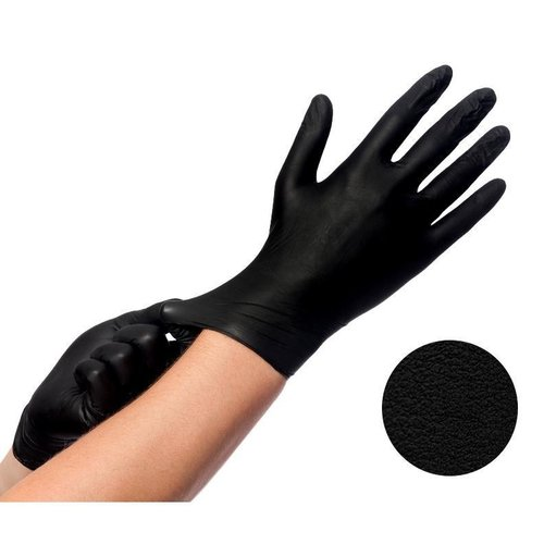 Styletek Vinyl Zwarte Handschoenen Poeder- & Latexvrij - 100st