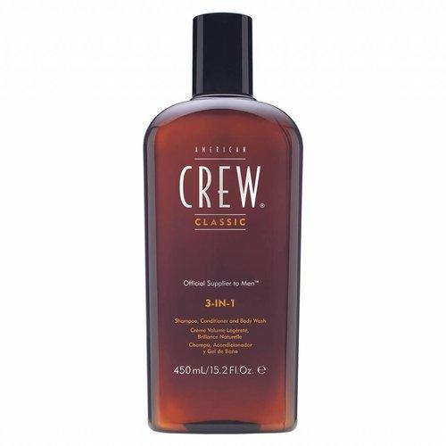 American Crew Classic 3-in-1 Shampoo, Conditioner & Body Wash