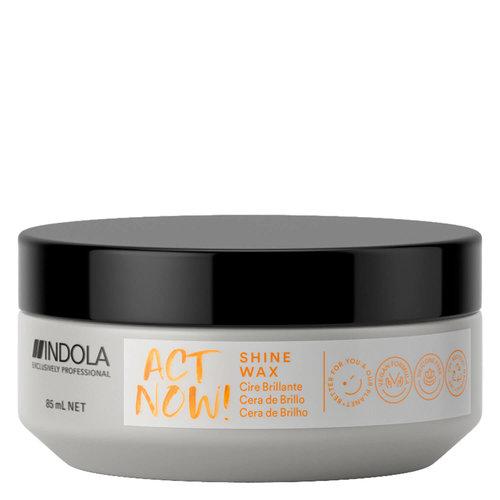 Indola ActNow Shine Wax - 85ml