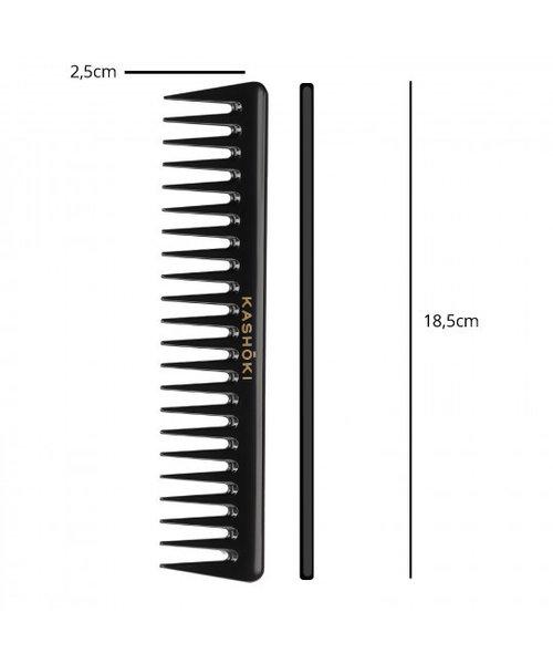 KASHŌKI Wide Tooth Detangling Comb Youko - Straight