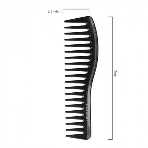 KASHŌKI Wide Tooth Detangling Comb Sachiko - Wavy