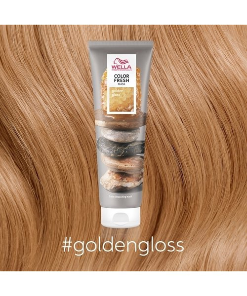 Wella Color Fresh Golden Gloss Mask - 150ml