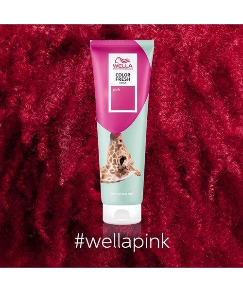 Wella Color Fresh Pink Mask - 150ml