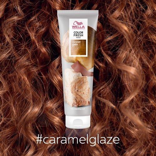 Wella Color Fresh Caramel Glaze Mask - 150ml