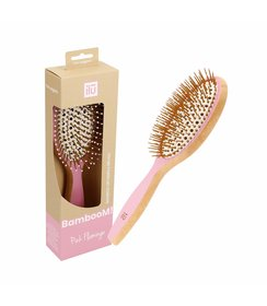 Detangler Hairbrush - Pink Flamingo