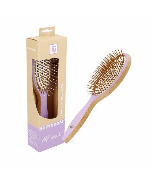 Bamboom Detangler Wild Lavender Hairbrush - Medium