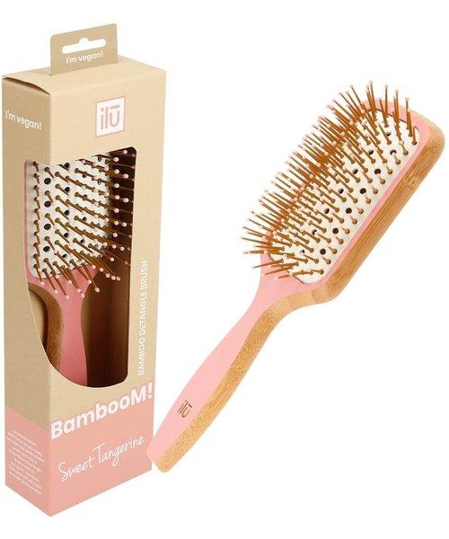 Bamboom Detangler Sweet Tangerine Paddle Brush