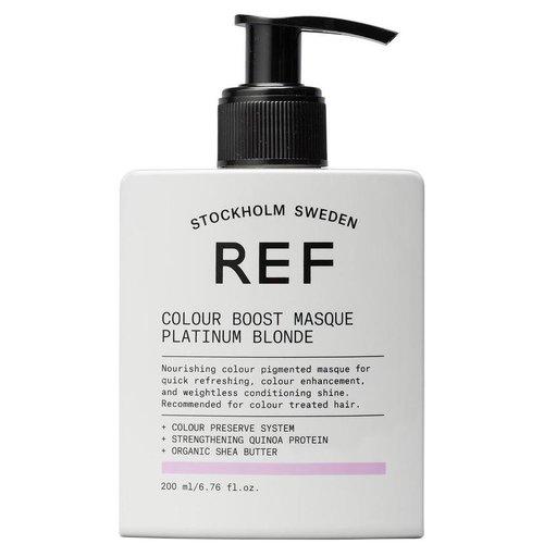 REF Colour Boost Platinum Blonde Masque - 200ml