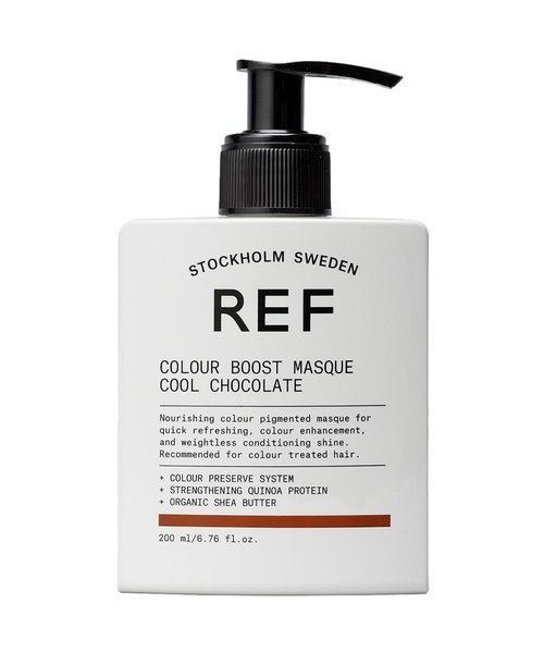 REF Colour Boost Cool Chocolate Masque - 200ml