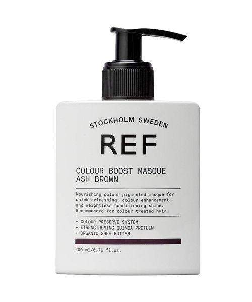 REF Colour Boost Ash Brown Masque - 200ml