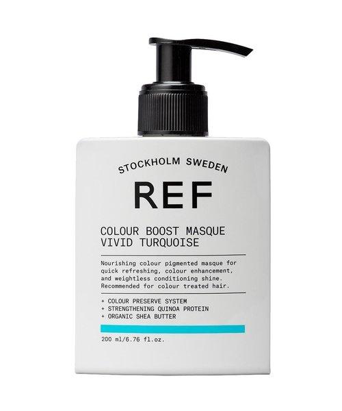 REF Colour Boost Vivid Turquoise Masque - 200ml
