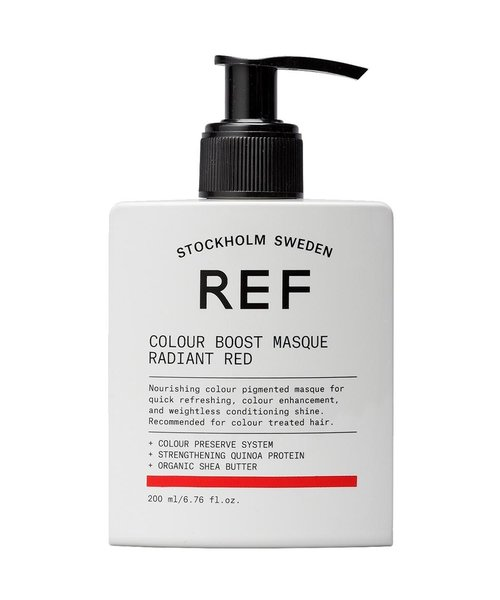 REF Colour Boost Radiant Red Masque - 200ml