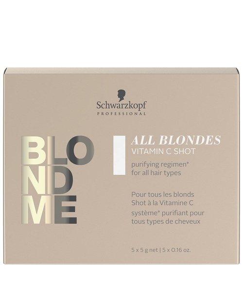 Schwarzkopf Blond Me All Blondes Blond Me Vitamin C Shots - 5x5gr.