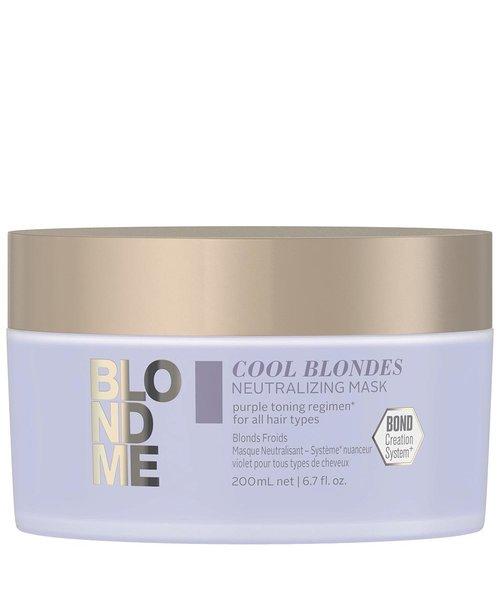 Schwarzkopf Blond Me Cool Blondes Neutralizing Violet Mask