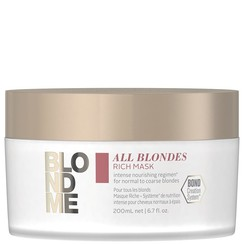 Blond Me Rich Mask