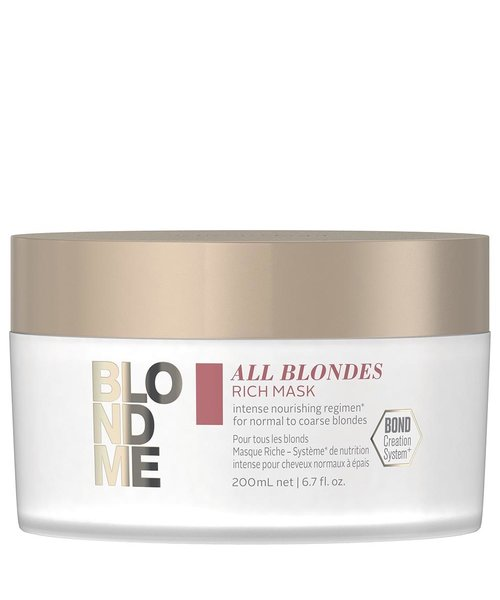 Schwarzkopf Blond Me All Blondes Rich Mask