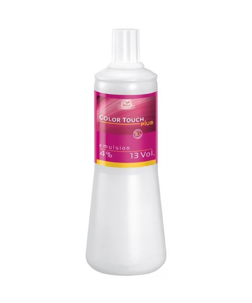 Wella Color Touch Plus Emulsion 4% - 1000ml