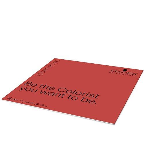 Schwarzkopf Igora Royal Kleurkaart Geprint