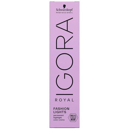 Schwarzkopf Igora Royal Fashion Lights Permanente Highlight Kleur - 60ml