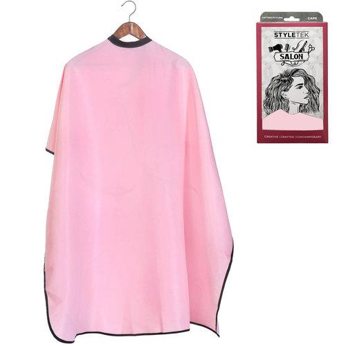 Styletek Kap/Verfmantel Roze met drukknopen - 152x120cm