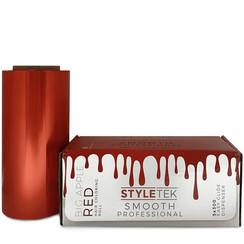 Smooth Aluminium Folie Rood