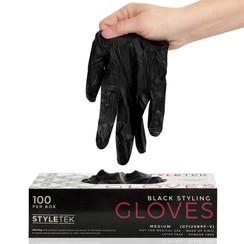 Vinyl Handschoenen - Zwart