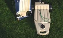Wastemaster Afvalwatertank 30/38 l. Zand/Beige kleur