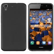 Tpu Siliconen Case Hoesje voor de Huawei Y6 - Zwart