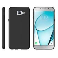 Samsung Galaxy A7 2017 Hoesje Tpu Siliconen Case - Zwart