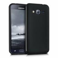 Zwart Tpu Siliconen Case Samsung Galaxy J3 Hoesje
