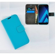 Effen Wallet Booktype Hoesje Samsung Galaxy A3 (2017) - Turquoise