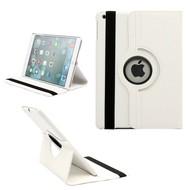 Apple iPad Pro 12.9 Tablet Bescherm Hoes 360° Draaibare Case Wit