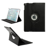 Apple iPad Pro 12.9 Tablet Bescherm Hoes 360° Draaibare Case Zwart