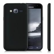 Samsung Galaxy J5 2016 - Siliconen Case Hoesje Zwart