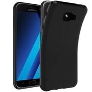 Zwart TPU Siliconen Hoesje Samsung Galaxy C5 Pro