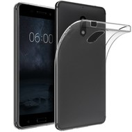 Transparant TPU Siliconen Hoesje voor Nokia 6
